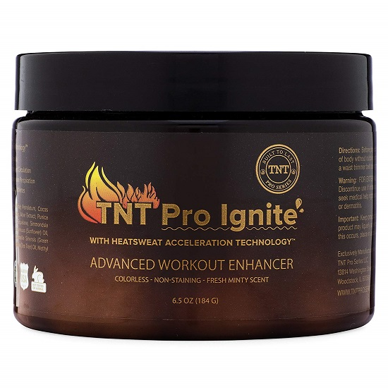 TNT Pro Ignite Stomach Fat Burner and Body Slimming Cream