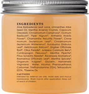 The Cellulite Cream Ingredients