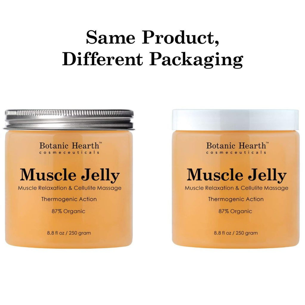 The Muscle Jelly in Different Packages