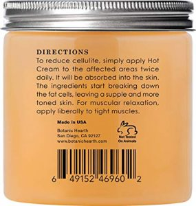 The Natural Cellulite Jelly Directions of Use