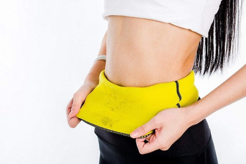 Sweating from the Tummy Control Shapewear