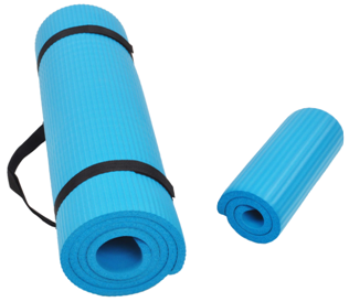 BalanceFrom Exercise Yoga Mat and Knee Pad