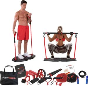 Fusion Motion Portable Gym with Nine Extra Accessories