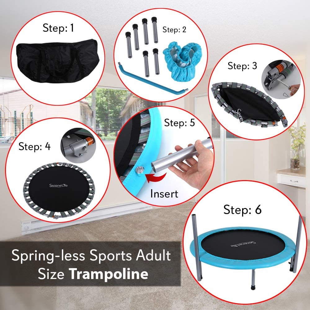 How to Assemble the Trampoline