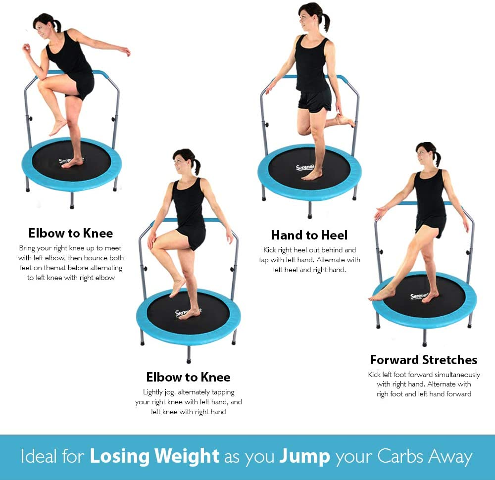 Trampolining: Ideal for Losing Weight