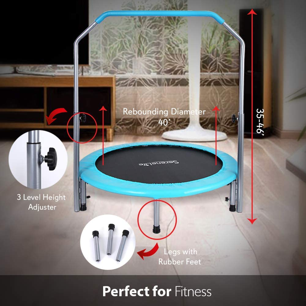 SereneLife Trampoline Features