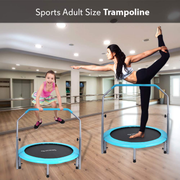 Trampoline From SereneLife | Portable and Foldable