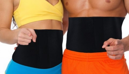 MakExpress Unisex Waist Trimmer Ab Belt and Tummy Tuck