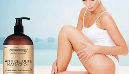 New York Biology Anti Cellulite Treatment Massage Oil